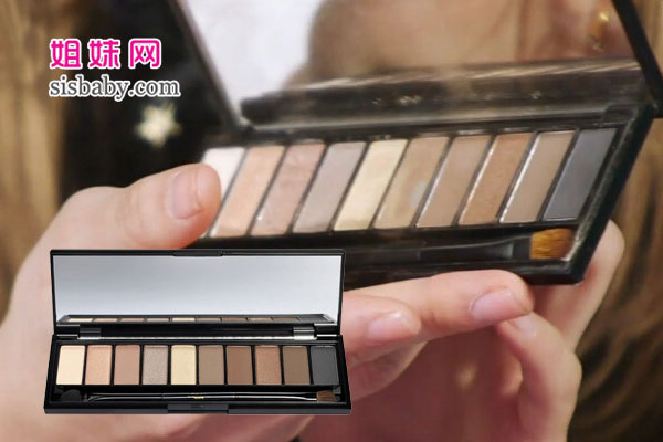 欧莱雅 彩妆设计师裸妆眼影盘