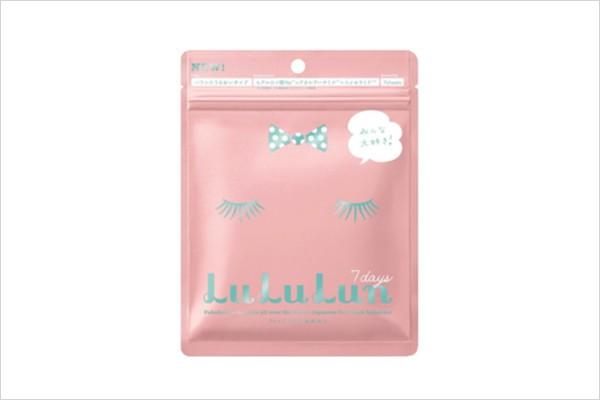 日本名模松本奈惠推荐 Lululun保湿面膜