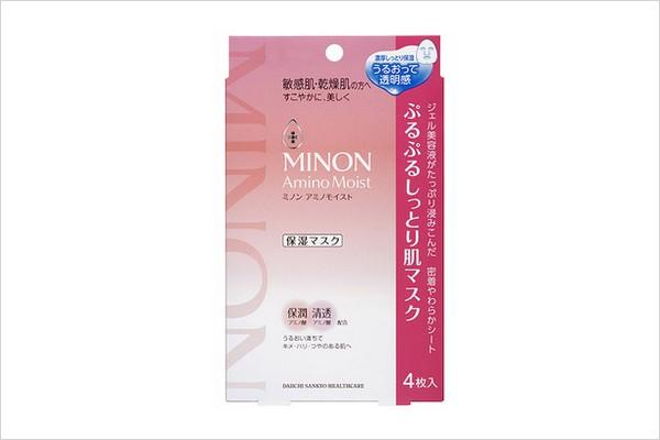 cosme大赏第一位 MINON氨基酸保湿面膜