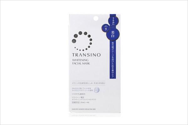 日本药妆店NO.1 TRANSINO 美白淡斑面膜